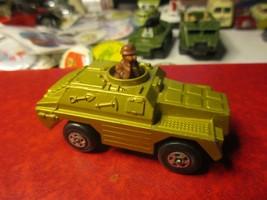 1973 Lesney Matchbox Rolomatics  #28 Stoat Armored Car - $12.86
