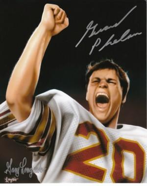 Gerard Phelan signed Boston College 8x10 Lithograph