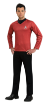 Rubie's Official Scotty Shirt Mens Fancy Dress Star Trek Red Sci Fi Space - $34.89