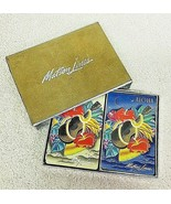 Vintage Matson Lines Double Deck Playing Cards in Box Ukulele & Flowers T80 - $38.12