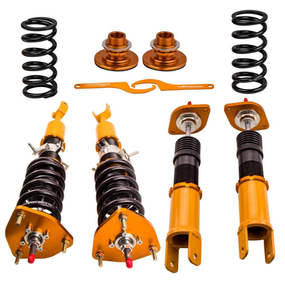 Racing Coilover Suspension Kits for Nissan Fairlady Z 350Z Z33 03-08 Adj. Damper - $349.00