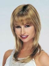 Golden Blonde Long Wig Shag Monofilament Top Razor Layers Revlon Miracles 234R  - $161.45