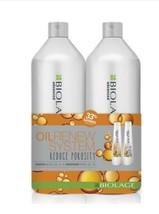MATRIX Biolage Oil Renew System Shampoo Conditioner Duo Liters - $44.06