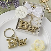 Luxurious Gold Baby themed key chain from fashioncraft - $16.11