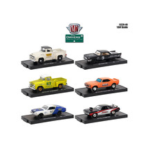 Drivers 6 Cars Set Release 49 In Blister Packs 1/64 Diecast Model Cars b... - $53.47