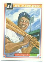 1983 Donruss Hall of Fame Heroes Roy Campanella #39 - Baseball Card - $1.49