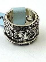 Brighton Shiraz Ring, Silver Finish, Swarovski Crystals J61972 Size 5 New - $55.10