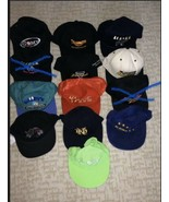 Vintage Lot of 11 Adjustable Caps Hats See all Photos - $39.60