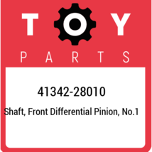 41342-28010 Toyota Shaft, front differential pinion, no.1 4134228010, Ne... - $24.14