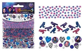 Disney Descendants 3 Movie Junior Kids Birthday Party Decoration Confetti 3-Pack - $7.17
