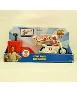 Duke Caboom Disney Pixar Toy Story 4 Launch and Race Stunt Motorcycle KA... - $14.99