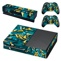 Tech wallpaper Decal Xbox one Skin for Xbox Console & 2 Controllers - $15.00