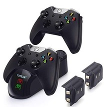 Charger Xbox One Controller  with 2 X 1200mAh Rechargeable Battery Packs... - $30.30
