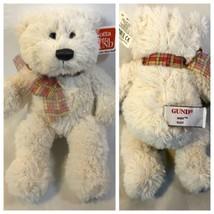 "RARE 9"" Aiden Cream Teddy Bear Plush by Gotta Get GUND - NWT - MINT COND... - $9.46"