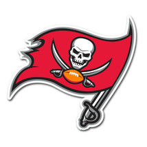 NFL NIP 12 INCH AUTO MAGNET TAMPA BAY BUCCANEERS CURRENT LOGO - €15,30 EUR