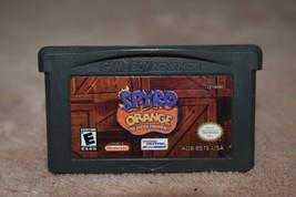 GBA Spyro Orange Cortex Conspiracy Nintendo Game Boy Advance Tested FREE... - $6.79