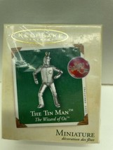 Hallmark Keepsake Miniature The Tin Man~ Wizard Of Oz - Christmas Orname... - £8.13 GBP