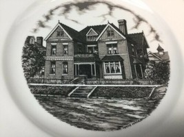 """Tri State Pottery Festival 1989 Homer Laughlin Home 10 1/4"""" Plate by Hans Hacker image 2"""