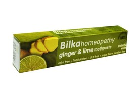 Bilka Homeopathy Toothpaste With Ginger and Lime - 100% Natural Product ... - $6.49