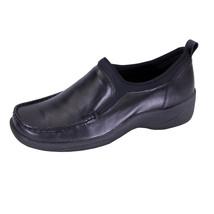 24 HOUR COMFORT Lora Wide Width Moccasin Design Comfort Leather Loafers - $59.95