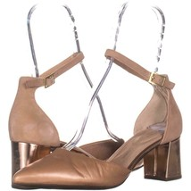 Rockport Salima2 Pointed Toe Buckle Heels 844, Light Pink, 8 W US - $31.67
