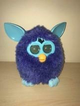 Hasbro 2012 FURBY Boom Purple Blue Twilight Blueberry Works Perfectly! - $15.00