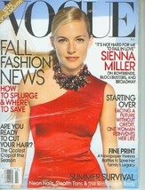 Vogue Magazine (July, 2009) Sienna Miller Cover - $5.69