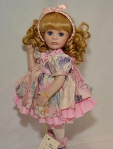 """MARIE OSMOND PORCELAIN DOLL """"TRACI"""" FROM MIRACLE CHILDREN SERIES  1994  ... - $15.95"""