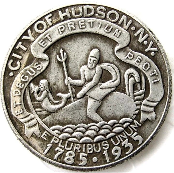 Primary image for 1935 Hudson New York Commemorative Half Dollar Casted Coin