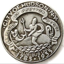 1935 Hudson New York Commemorative Half Dollar Casted Coin - $11.99