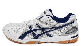ASICS ROTE RIVRE FL 5 Badminton Shoes Unisex Indoor White Volleyball TVR... - $80.91