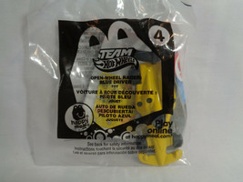 2012 McDonald's Hot Wheels Team Open-Wheel Racer Blue Driver Toy # 4 - New - $1.73
