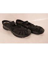 Keen Womens Rose Sandal Black Adjustable Strap Water Sport Hiking 9 - $58.41