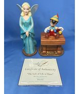 Walt Disney Collection 2006 Pinocchio And Blue Fairy The Gift Of Life Is Thine - $169.99