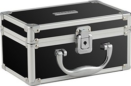 Vaultz Locking Mini Makeup Artist Case, Black VZ03741 - $20.08