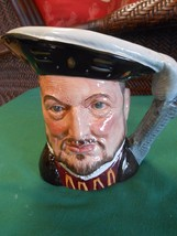 Magnificent Large ROYAL DOULTON  1975 Henry VIII  MUG.....SALE - $38.81