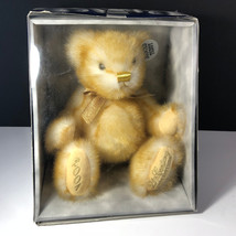 DAN DEE TEDDY BEAR 2001 century first edition jointed nib box gold plush... - $34.65
