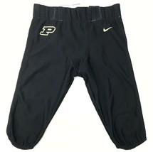 Nike Digital Vapor Pro Purdue Boilermakers Black Football Pant Men's L 845926 - $19.05