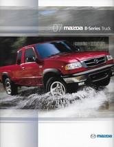 2007 Mazda B-SERIES TRUCKS brochure catalog folder B 2300 3000 4000 Ranger - $8.00