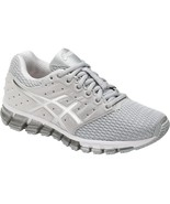 Womens Asics Gel-Quantum 180 2 Mid Grey/White Running Shoes [T6G72 9601] - $94.99