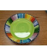 """Certified International Nancy Green Serape Pasta Bowl, 9"""" Read - $16.82"""