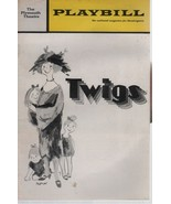 """Plymouth Theatre Playbill """"TWIGS"""" May 1972 Comedy by George Furth - $3.00"""