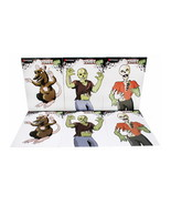 Marksman Zombie Style Paper Targets 3 Styles 2ea - £11.91 GBP