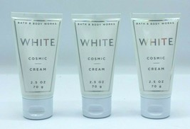 Set of 3 Travel Bath and Body Works White Cosmic Body Cream - $14.99