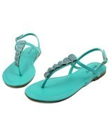 Josalyn-19 Precious Stone Flats Cute Sandals Gladiator Party Women Shoes... - $12.59