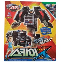 Hello Carbot Sky SWAT X Transformation Action Figure Police Car Vehicle Toy