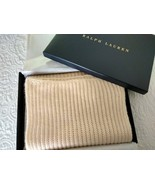 Long Cream colored Scarf by Ralph Lauren - $95.00