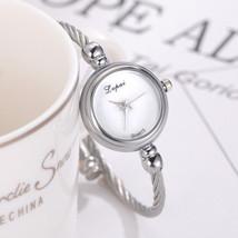 Lvpai® Women Bracelet Watch Luxury Stainless Steel Gold Silver Quartz Gift image 2