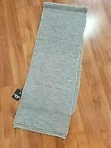 Men's Steve Madden Textured Chunky Knit Heather Grey Scarf One Size - $19.31