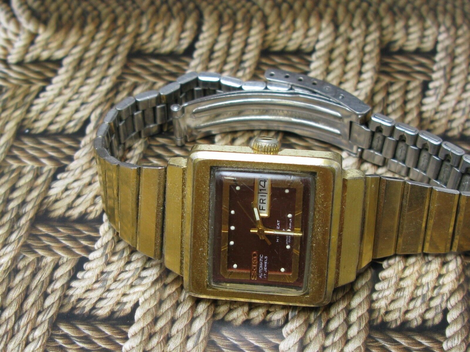 Vintage Seiko women watch automatic 17 jewels japan serviced hi-beat image 7